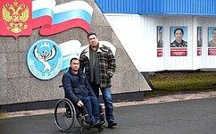 В.Полетаев: Необходимо уделять больше внимания людям синвалидностью, стремящимся кпрофессиональной самореализации