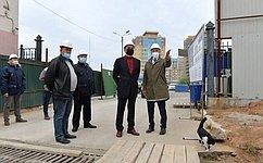 Н. Федоров посетил Федеральный центр травматологии, ортопедии иэндопротезирования вЧебоксарах