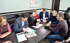 В. Лаптев провел заседание комиссии повосстановлению Спасского собора вКуйбышеве Новосибирской области