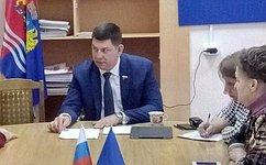В. Смирнов: Приоритетные национальные проекты призваны стать эффективным инструментом развития муниципалитетов иповышения качества жизни наших сограждан