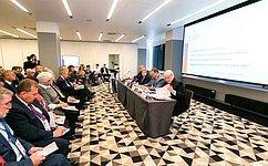ВМурманске прошло выездное совместное заседание комитетов Совета Федерации повопросам международного сотрудничества вАрктике