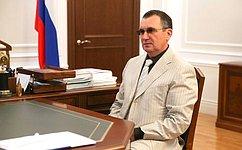 Н. Федоров: Совет Федерации уделяет особое внимание развитию Кисловодска