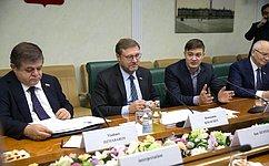 Мы поддерживаем ибудем развивать контакты сфилиппинскими парламентариями— К.Косачев