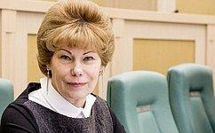 Т.Гигель: Обеспечение информационной безопасности детей вИнтернете– один изприоритетов Совета Федерации