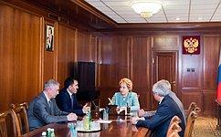 Председатель СФ иглава Ингушетии обсудили перспективы социально-экономического развития республики