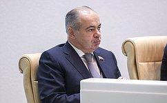 Совет Федерации иПалата депутатов Египта сформируют парламентские группы посотрудничеству– И.Умаханов