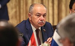 Состоялось совместное заседание комитетов Совета Федерации иВНСТ Турции помеждународным делам имежпарламентских групп дружбы