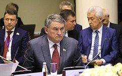 Ю. Воробьев принял участие взаседании Совета Парламентской Ассамблеи ОДКБ