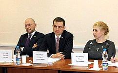 Д. Шатохин принял участие в«круглом столе», посвященном государственно-частному партнерству всистеме ОМС
