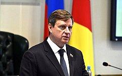 Сенатор Андрей Епишин представил областному Заксобранию отчет оработе за2018год