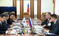 Сенаторы провели встречи сГенеральным секретарем Парламента Кореи