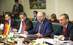О. Мельниченко провел встречу сисполнительным директором ичленом Правления Германо-российского Форума М.Хоффманном