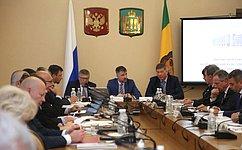 В. Рязанский принял участие взаседании Экспертного совета пофизической культуре испорту при Комитете СФ посоциальной политике