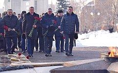 Подвиг защитников Воронежа навсегда вписан висторию Великой Победы нашей страны— С.Лукин