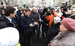 А. Турчак проконтролировал реализацию федерального проекта «Городская среда» вНижнем Новгороде