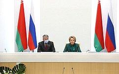 В. Матвиенко: Общее историческое наследие даёт мощный импульс развитию экономических икультурных связей Беларуси иРоссии