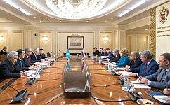 Состоялась встреча Председателя СФ В.Матвиенко сПрезидентом Республики Казахстан К.Токаевым