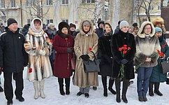 Т. Гигель приняла участие вмероприятиях, посвященных 149-летию содня рождения художника иполитического деятеля Алтая Г.Чорос-Гуркина