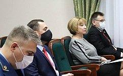 Р. Галушина приняла участие вработе первой в2021году сессии Собрания депутатов Ненецкого автономного округа