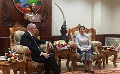 А.Клишас: Россия заинтересована вразвитии межпарламентских связей состранами азиатского региона