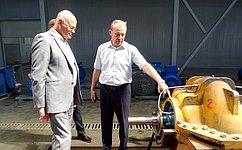 В. Круглый: Поддержка региональных промышленных предприятий— чрезвычайно актуальная задача