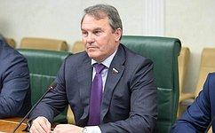 И. Морозов: Тема доступности икачества образования— одна изприоритетных для Совета Федерации