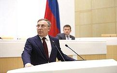 Совет Федерации поддержал закон обисполнении бюджета Фонда социального страхования РФ за2019год