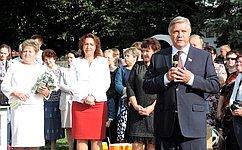 Юрий Волков поздравил калужских школьников сДнем знаний