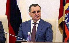 Совершенствование региональной политики является одним изключевых вопросов вработе Совета Федерации— Н.Федоров