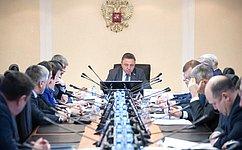 Комитет СФ поРегламенту иорганизации парламентской деятельности рассмотрел исполнение контрольных поручений палаты