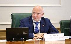 А. Клишас поздравил Алексея Додатко сизбранием надолжность председателя Законодательного Собрания Красноярского края