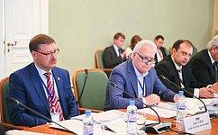 Врамках МПА СНГ прошли заседания постоянных комиссий Ассамблеи