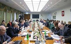 Комитет СФ поаграрно-продовольственной политике иприродопользованию обсудил совершенствование законодательного регулирования пользования недрами