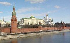 Вклад сенаторов вразвитие российского законодательства отмечен государственными наградами