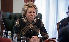 В.Матвиенко: Каждый народ имеет право навыбор своей модели демократии