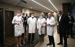 В. Матвиенко посетила Институт ядерной медицины вМосковской области