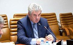 В.Бондарев: В2019году Комитет СФ пообороне ибезопасности выполнил все поставленные задачи