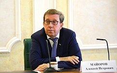 А. Майоров провел встречу спредставителями руководства компании «Норильский никель»