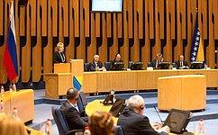 В. Матвиенко: Межпарламентское сотрудничество России иБиГ поступательно развивается