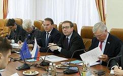 А. Майоров: Мы всегда готовы кдиалогу снашими европейскими коллегами