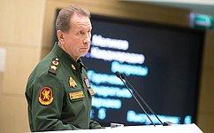 В. Золотов рассказал оперспективах развития Росгвардии