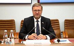К. Косачев: Российско-индийское сотрудничество успешно развивается