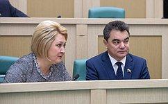 Входе «парламентской разминки» сенаторы почтили память погибших вКерчи минутой молчания