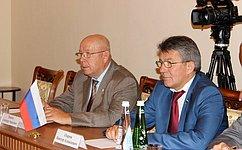 Делегация Совета Федерации посетила срабочим визитом Республику Абхазия