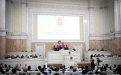 В.Матвиенко: Служить Санкт-Петербургу– большая честь