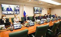 ВКомитете СФ посоциальной политике обсудили проект федерального закона осистеме пробации вРоссии