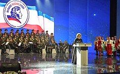 В.Матвиенко: Наш язык— неразрывная нить, которая связывает большую семью Русского мира