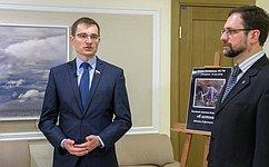 ВСовете Федерации открылась выставка картин Заслуженного художника РФ И.Машкова «Кистокам»