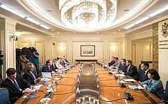 К. Косачев: Мы готовы кпродолжению межпарламентского диалога сСША