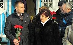 Л. Козлова приняла участие впраздничных мероприятиях, посвященных дню рождения Юрия Гагарина
